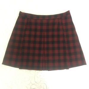 H&M | Plaid Pleated Mini Skirt 14